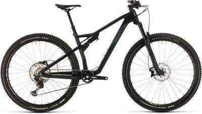"""Cube AMS 100 C:68 Race 29 Suspension Bike 2020 - Carbon - Grey - 46cm (18""""), Carbon - Grey"""