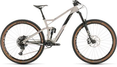 """Cube Stereo 150 C:62 Race 29 Suspension Bike 2020 - Grey - Carbon - 46cm (18""""), Grey - Carbon"""