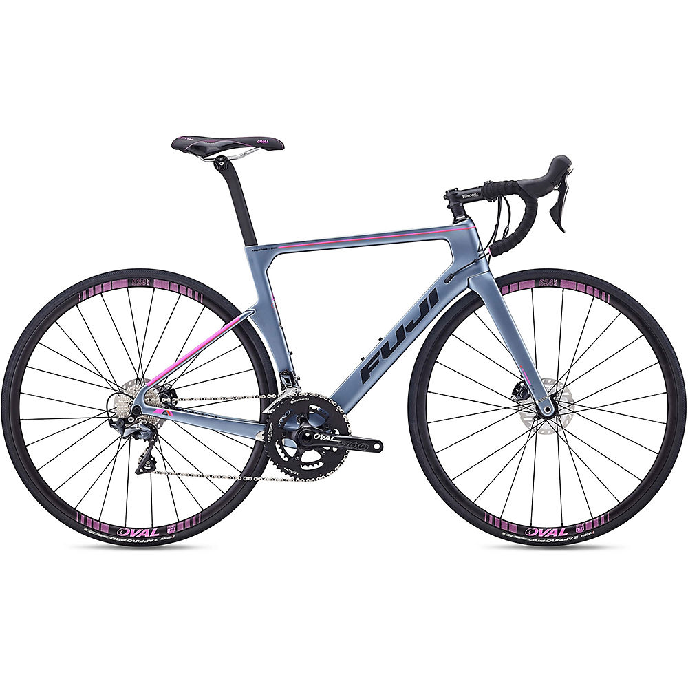 "Fuji Supreme 2.3 Road Bike 2020 - Satin Storm Silver - 47cm (18.5""), Satin Storm Silver"