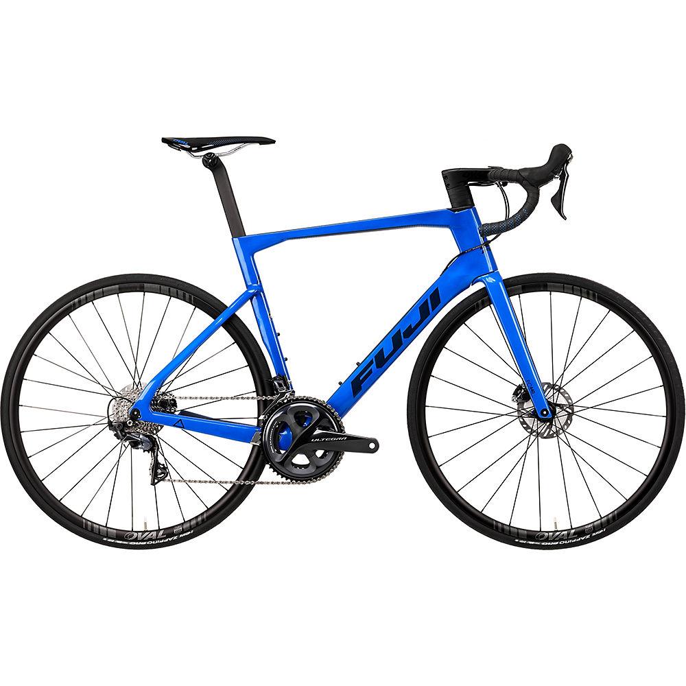 """Image of Bici da strada Fuji Transonic 2.3 Disc 2020 - blu elettrico - 54cm (21""""), blu elettrico"""