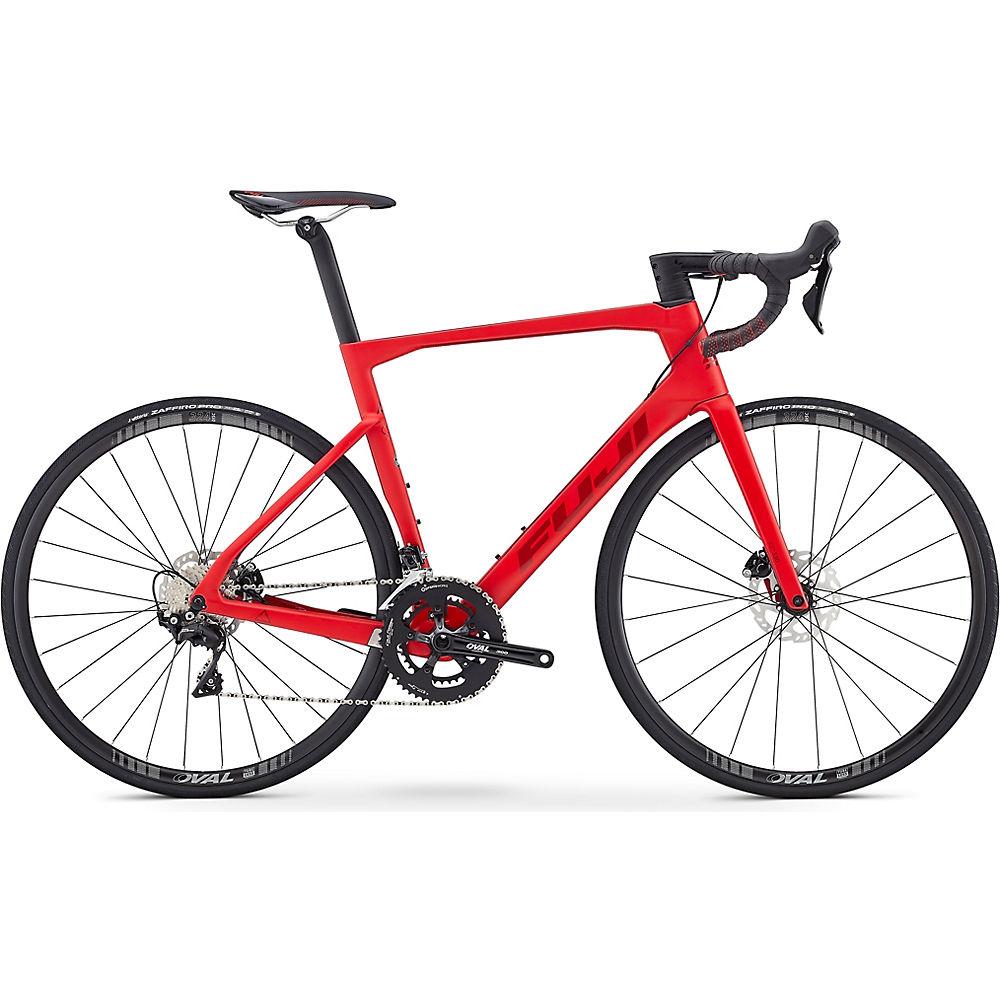 Fuji Transonic 2.5 Disc Road Bike 2020 - rosso satinato - 52cm (20.5