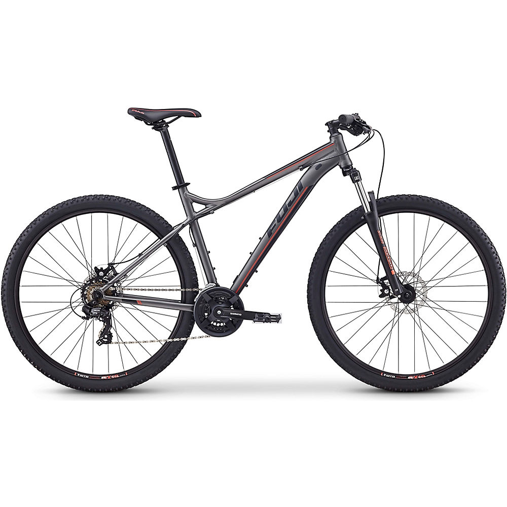 Fuji Nevada 29 1.9 Hardtail Bike 2020 - Satin Anthracite - 59cm (23