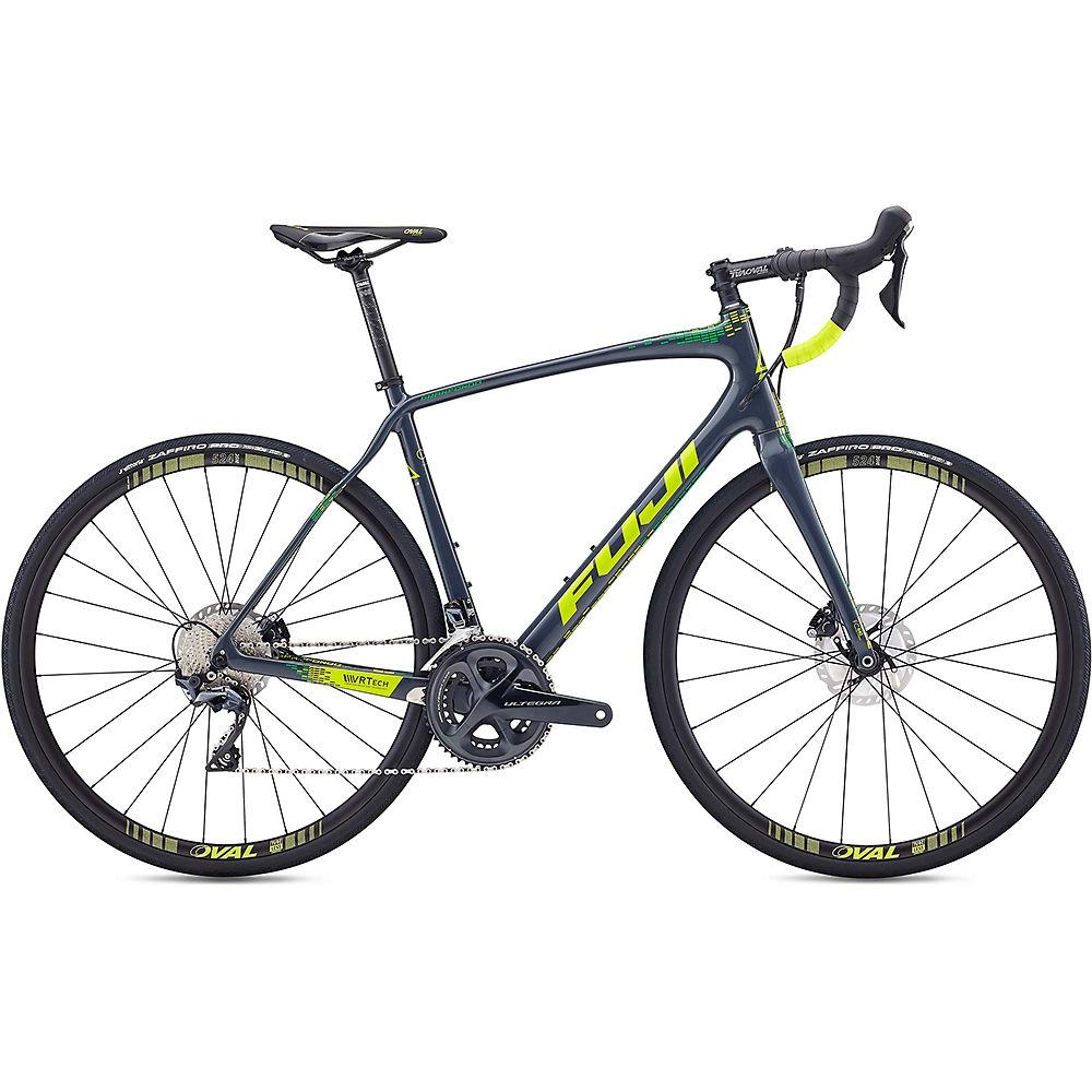 "Image of Bici da strada Fuji Gran Fondo 1.3 2020 - Onyx - 49cm (19.25""), Onyx"