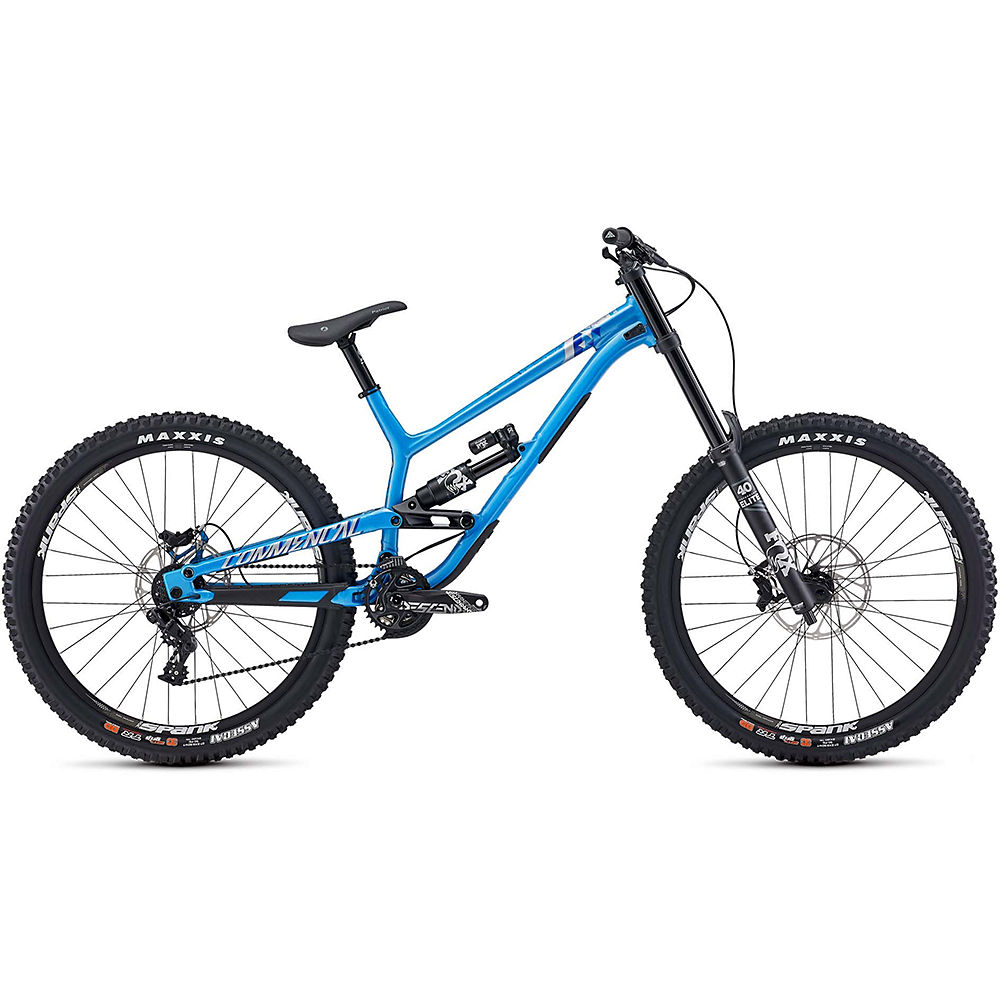 Image of Commencal Furious Essential Fox Suspension Bike 2020 - Bleu, Bleu