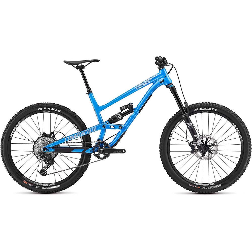 Commencal Clash Essential Fox Full Suspension Bike 2020 - blu