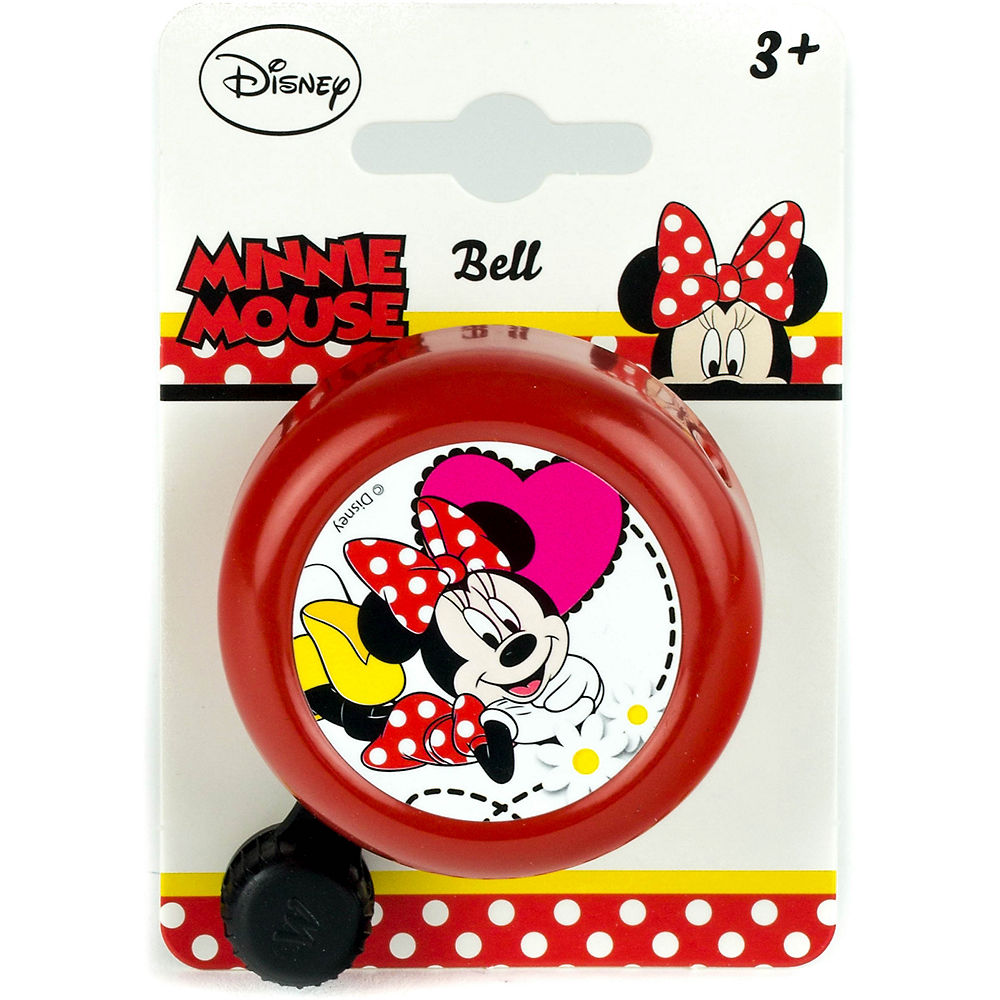 Image of Widek Minnie Mouse Disney Bike Bell - Rouge, Rouge