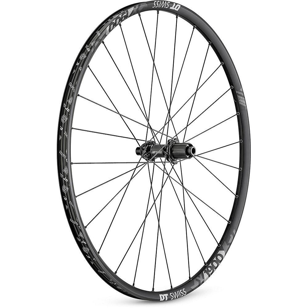 DT Swiss X 1900 SP 25mm Rear Wheel - Black - 148mm SRAM XD, Black