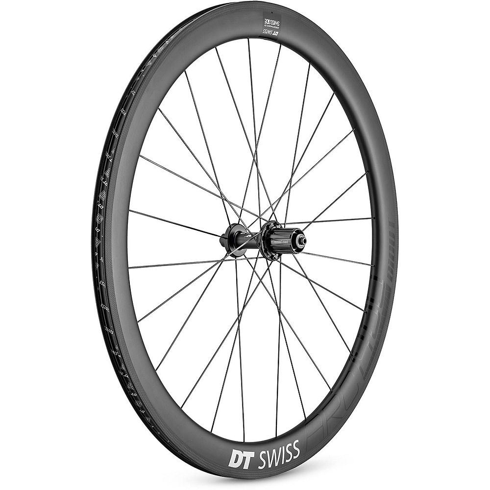 DT Swiss Arc 1400 Dicut 48mm Rear Wheel 2020 - Carbon - 130mm Shimano, Carbon