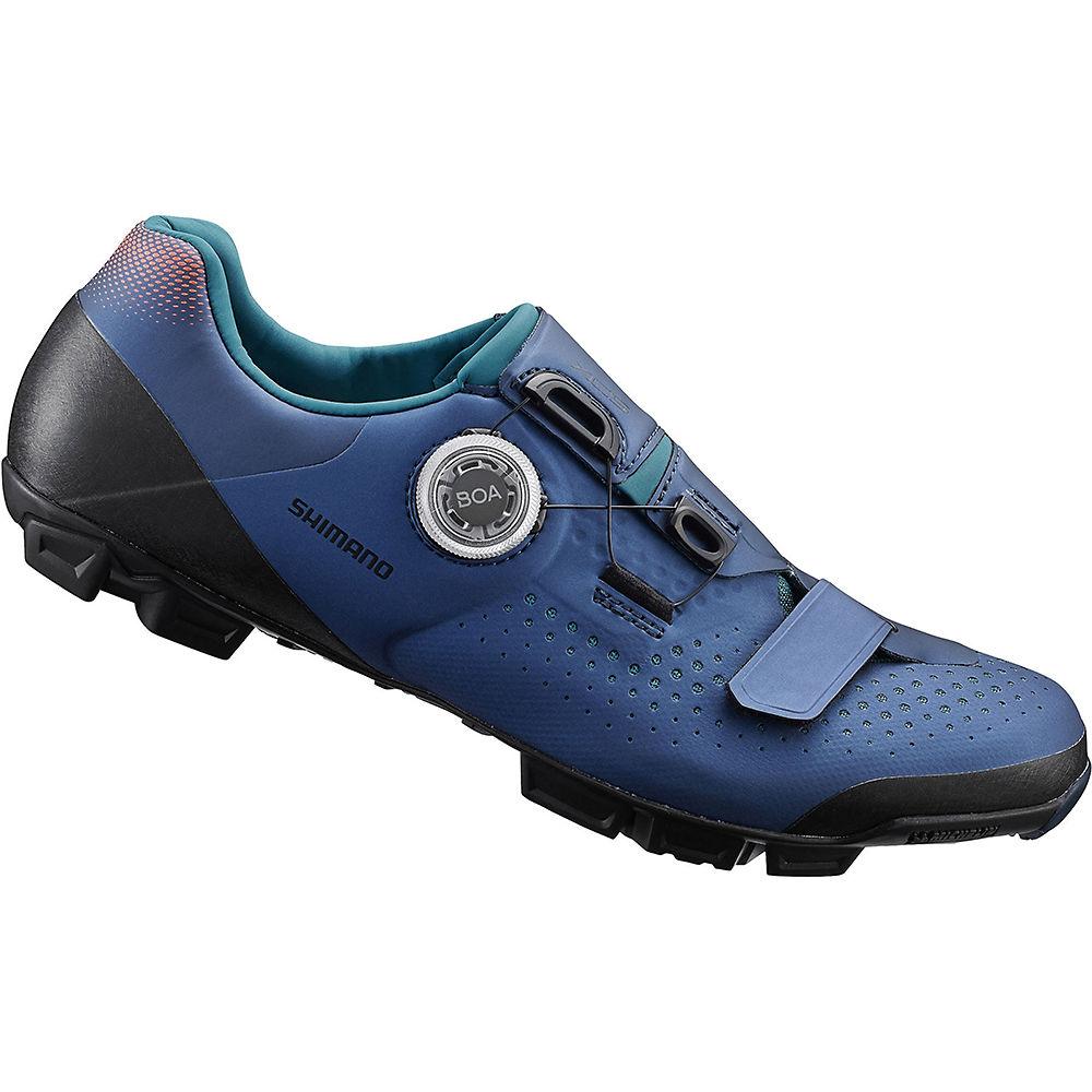 Shimano Womens Xc5w (xc501w) Mtb Shoes 2020 - Navy - Eu 42  Navy