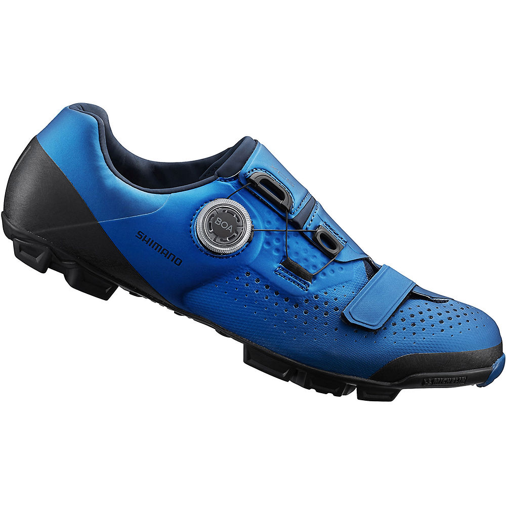 Shimano Xc5 (xc501) Mtb Spd Shoes 2020 - Blue - Eu 47  Blue