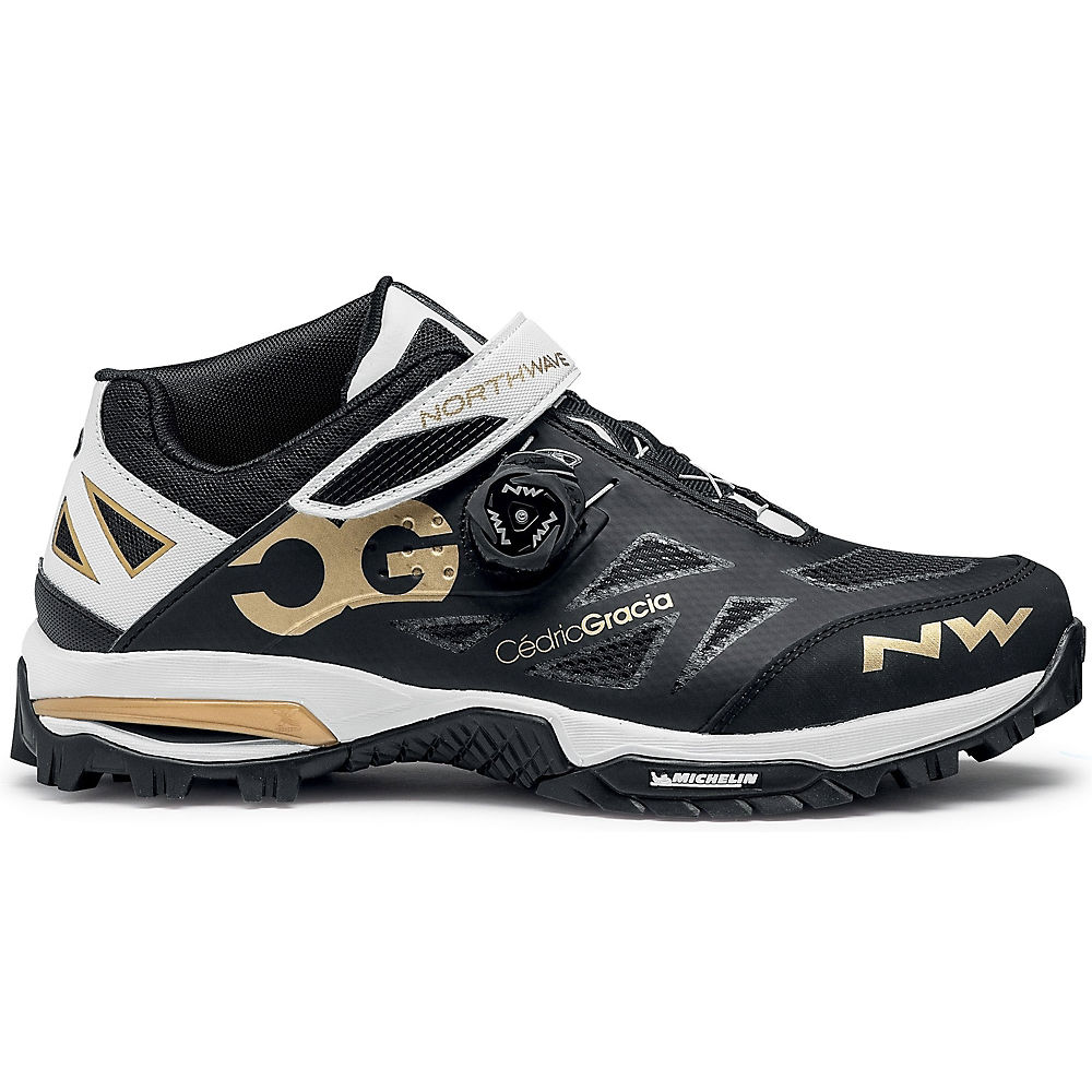 Northwave Enduro Mid Mtb Shoes 2020 - Black-gold - Eu 40  Black-gold