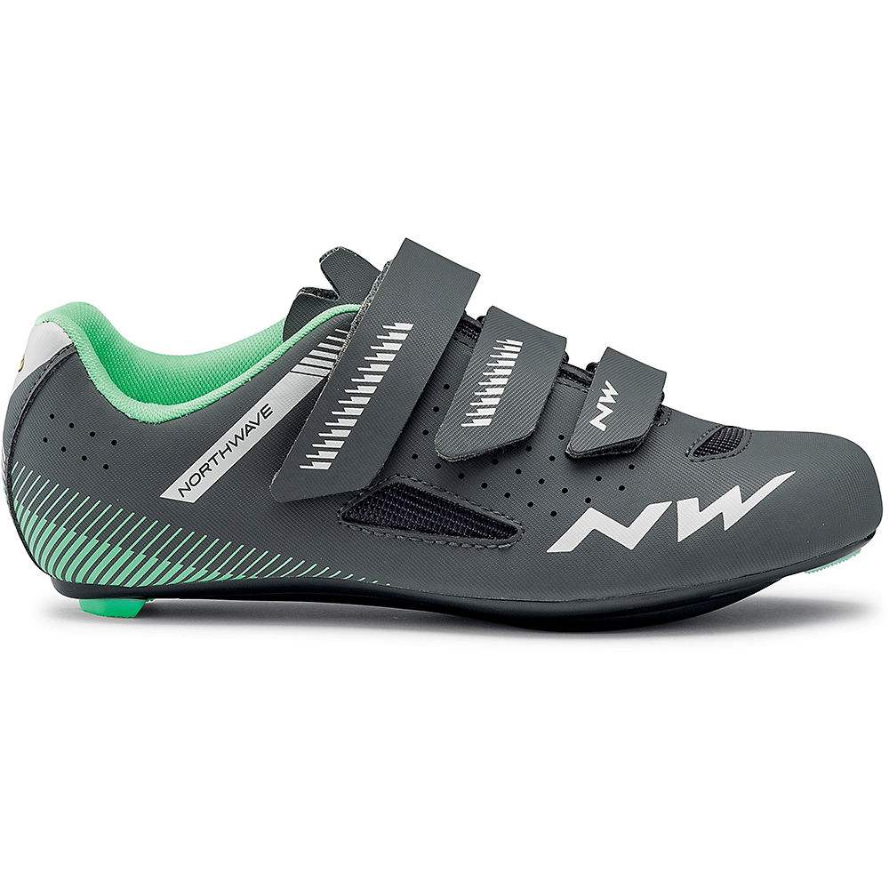 Northwave Womens Core Road Shoes 2020 - Anthra-light Green - Eu 36.5  Anthra-light Green