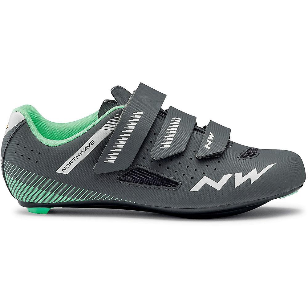 Northwave Women's Core MTB Shoes 2020 – Anthra-Light Green – EU 36.5, Anthra-Light Green
