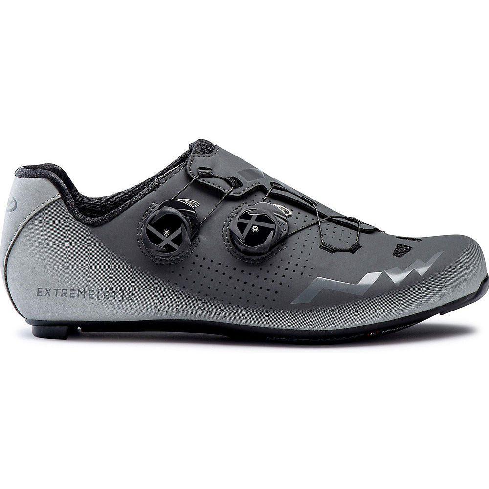 Northwave Extreme Gt 2 Road Shoes 2020 - Anthracite-silver Reflective - Eu 47  Anthracite-silver Reflective