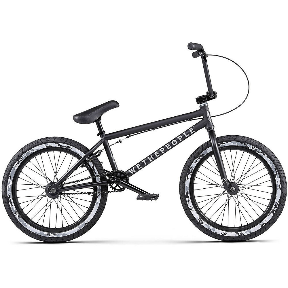 WeThePeople Arcade BMX Bike 2020 - nero opaco - 20.5