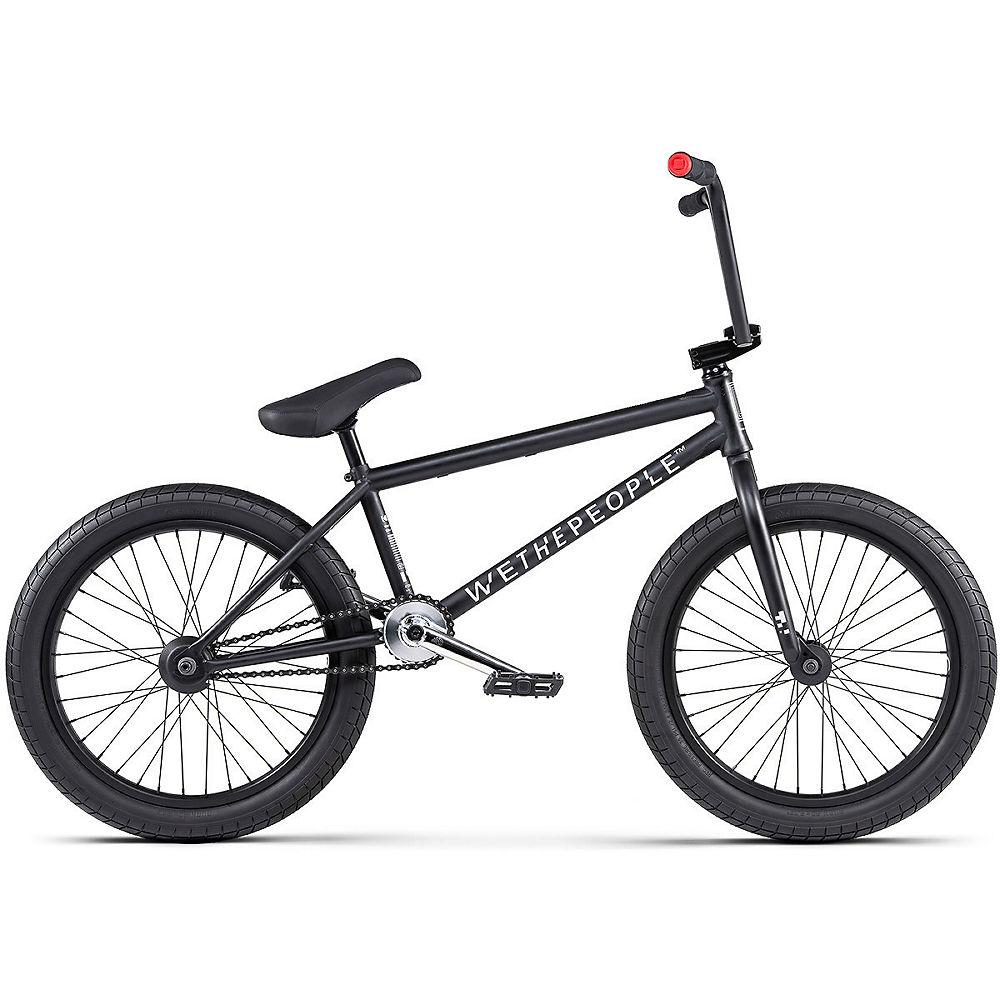 WeThePeople Reason BMX Bike 2020 – Matt Black – 20.75″, Matt Black