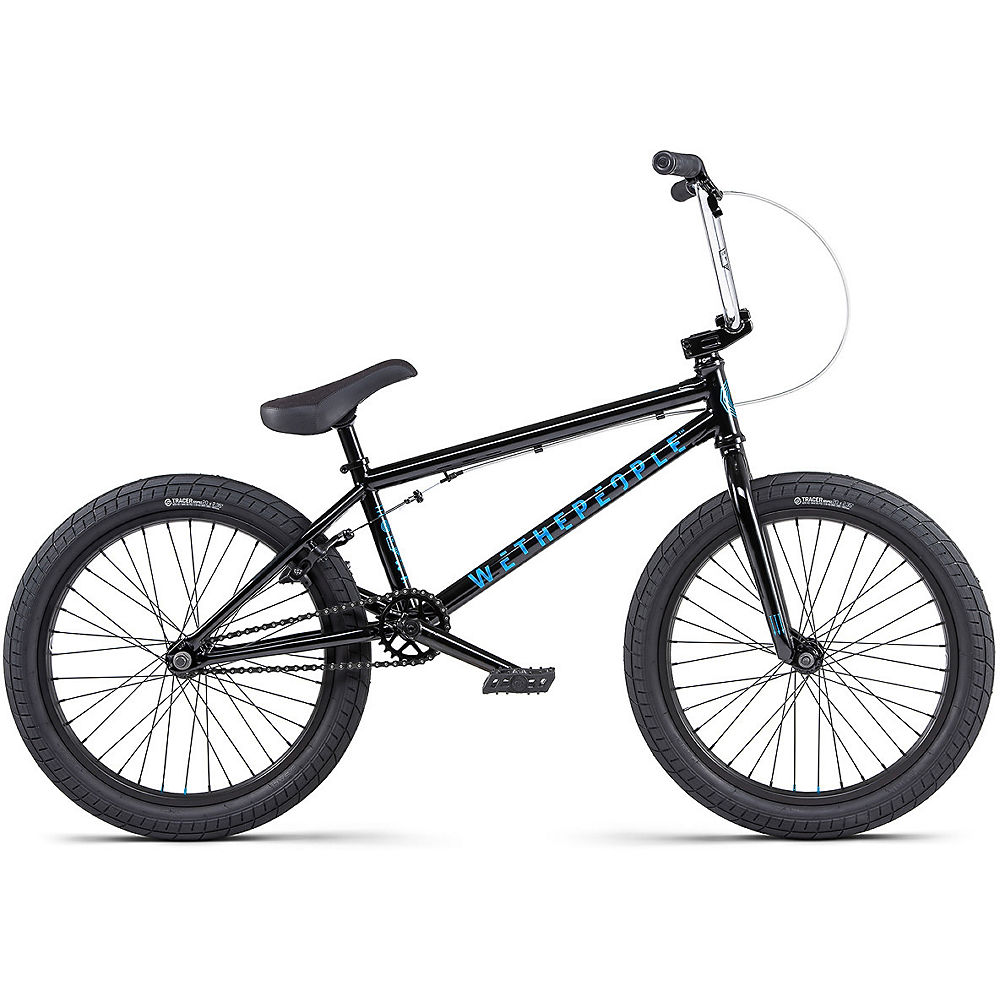 WeThePeople CRS 18″ BMX Bike 2020 – Black, Black