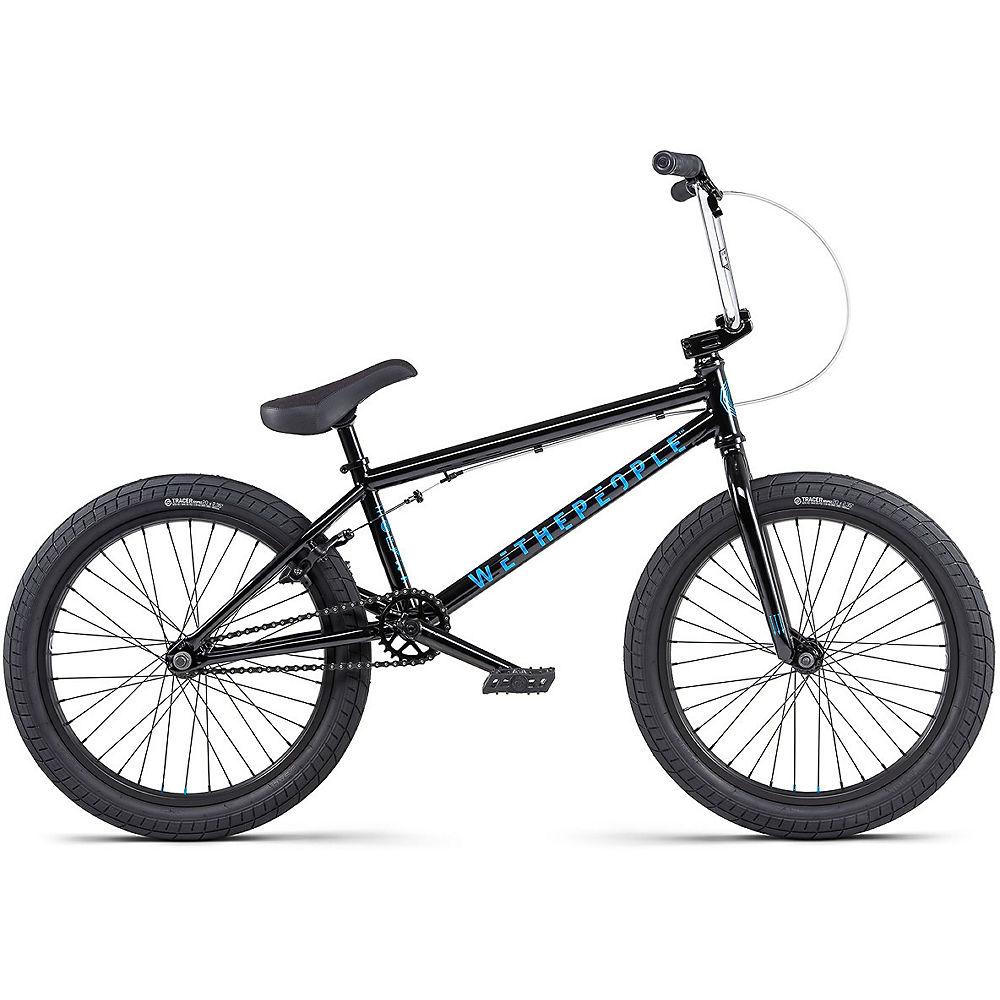 WeThePeople CRS 18″ BMX Bike 2020 – Black, Black