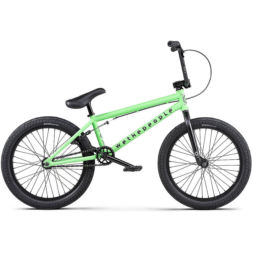 WeThePeople Nova BMX Bike 2020 – Matt Apple Green – 20″, Matt Apple Green