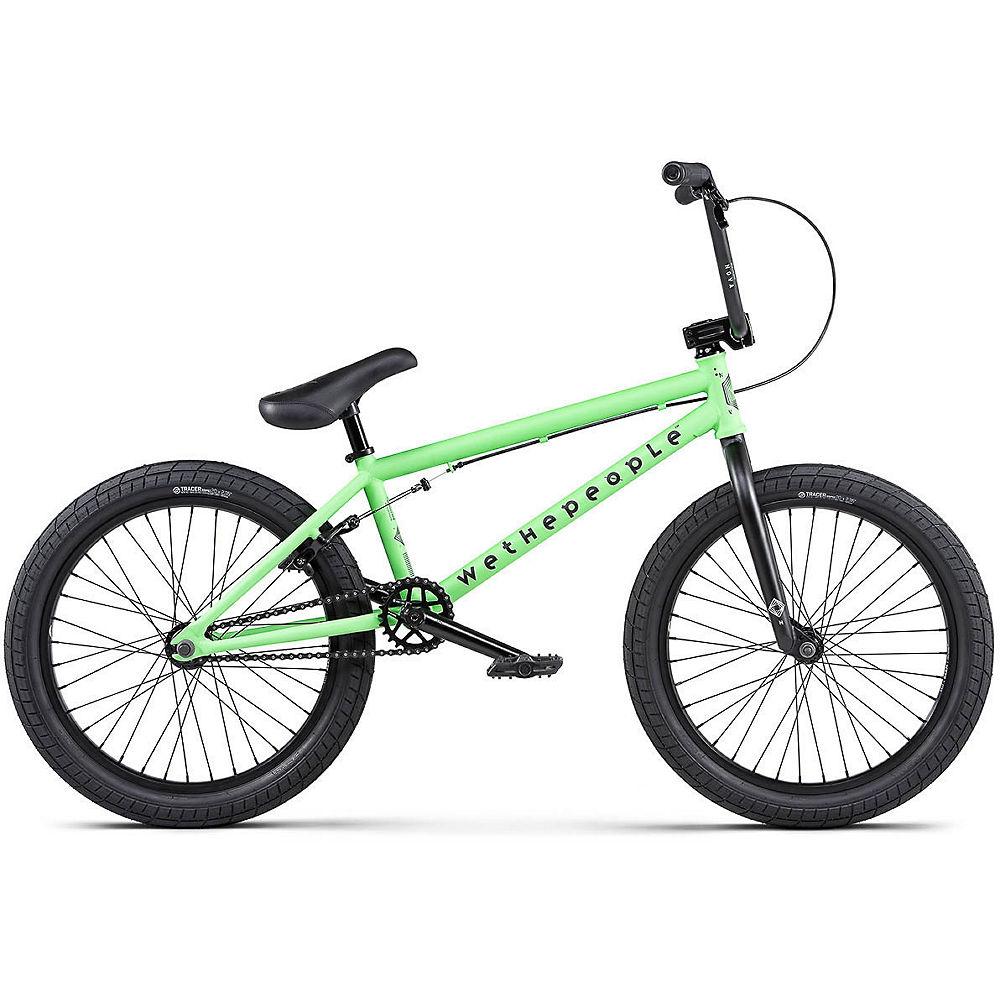 WeThePeople Nova BMX Bike 2020 – Matt Apple Green – 20″, Matt Apple Green