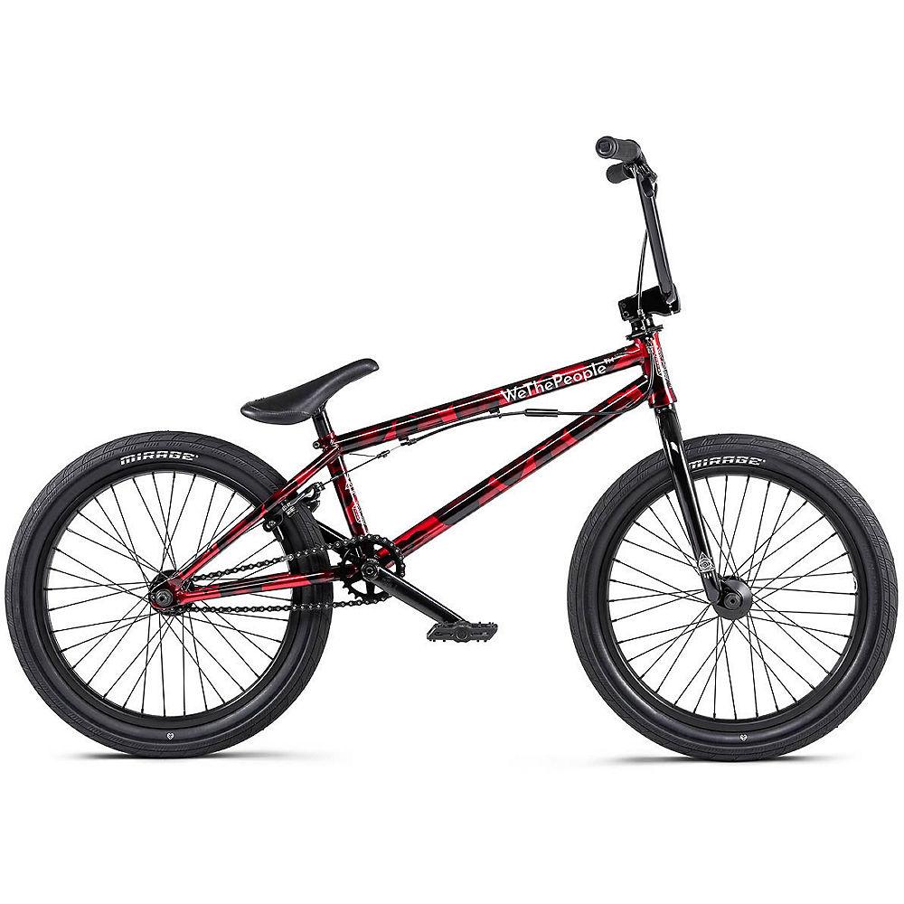 WeThePeople Versus BMX Bike 2020 - Brushed Metallic Red - 20.65