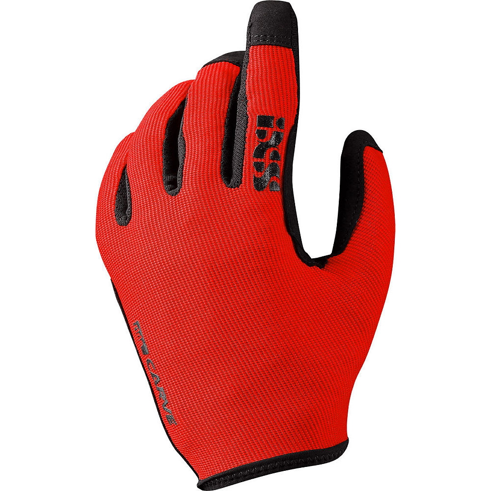 IXS Kid's Carve Gloves - Fluo Red, Fluo Red