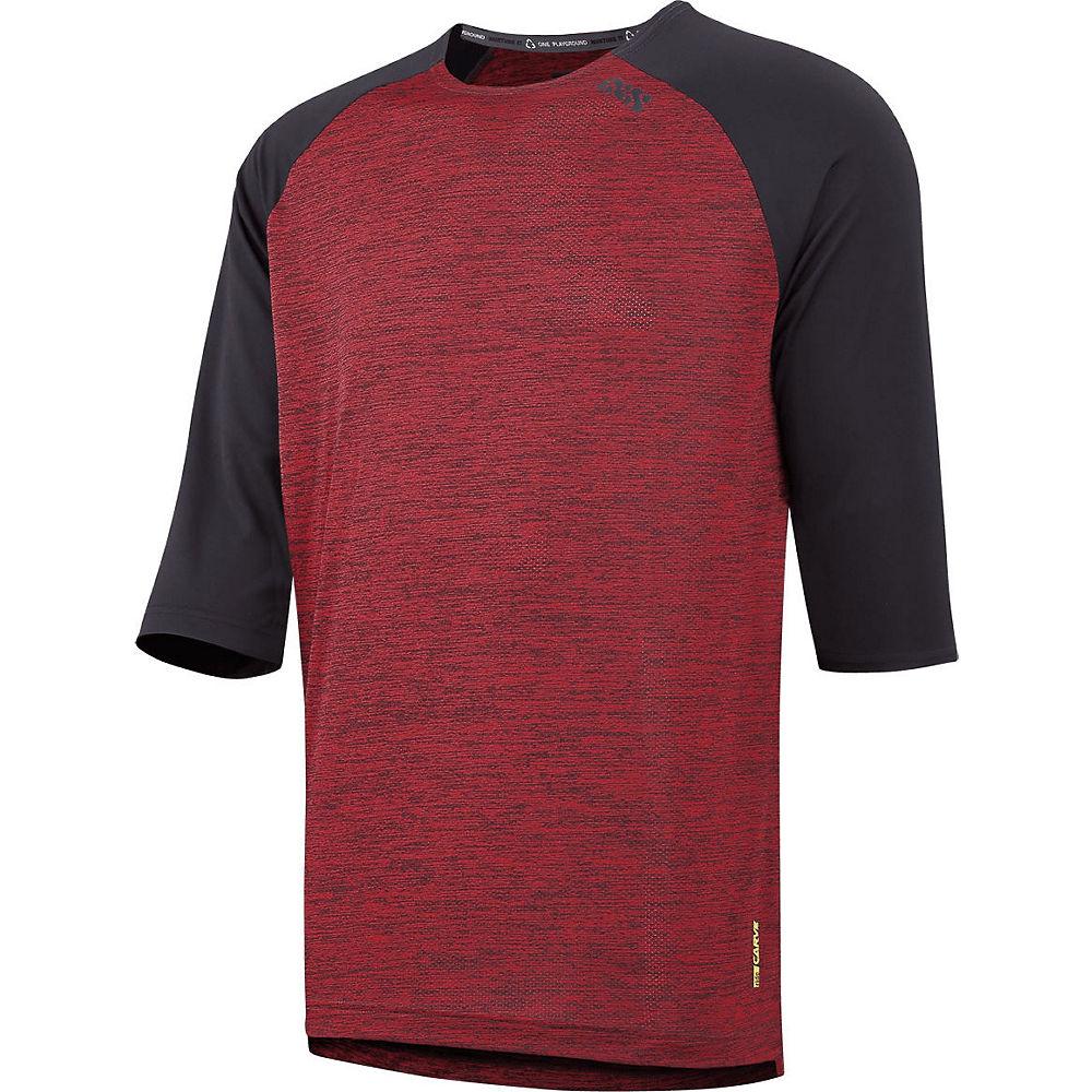 Ixs Carve X Jersey - Night Red-black - Xxl  Night Red-black