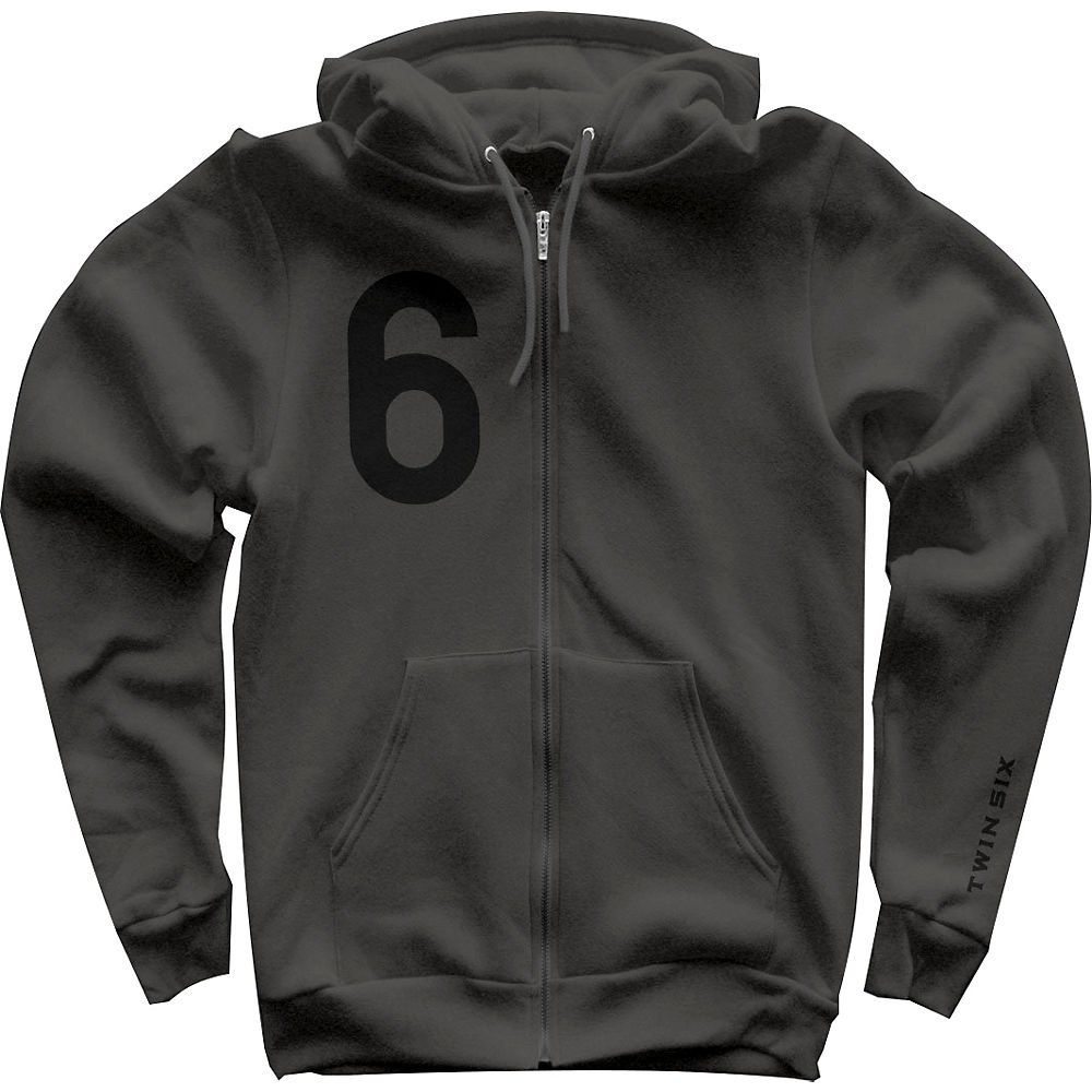 Image of Twin Six Team Hoodie - Gris - XXL, Gris
