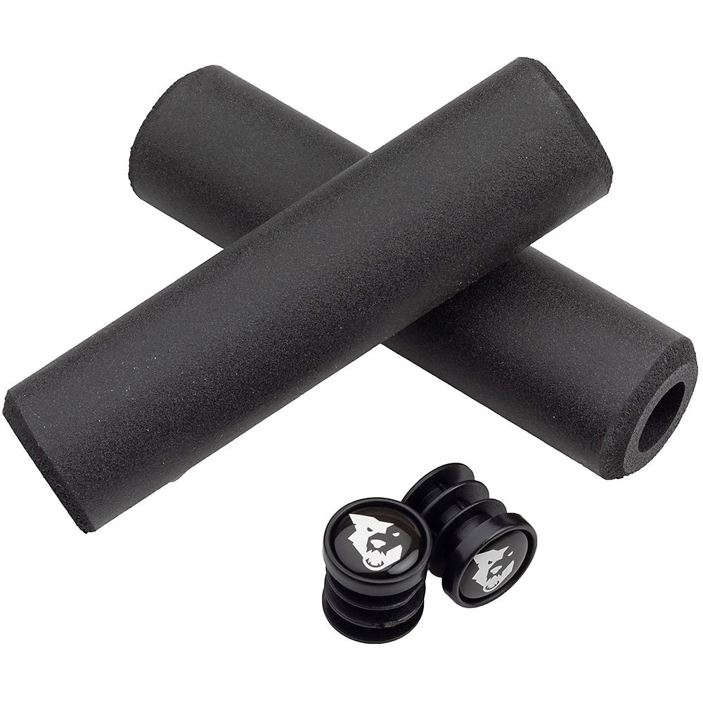 Image of Wolf Tooth Fat Paw Grips - Noir - 135mm, Noir