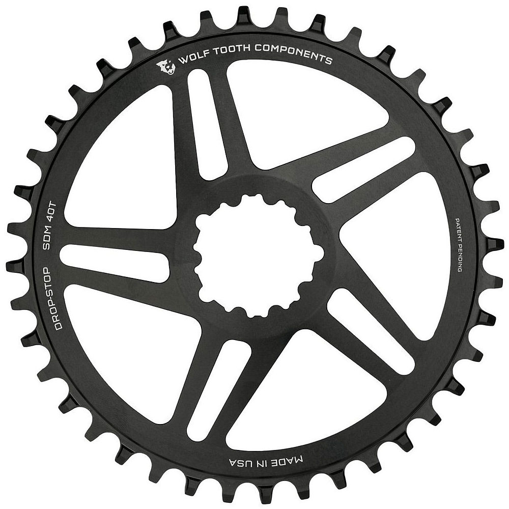 Image of Wolf Tooth Direct Mount Chainring - Noir - BB30, Noir