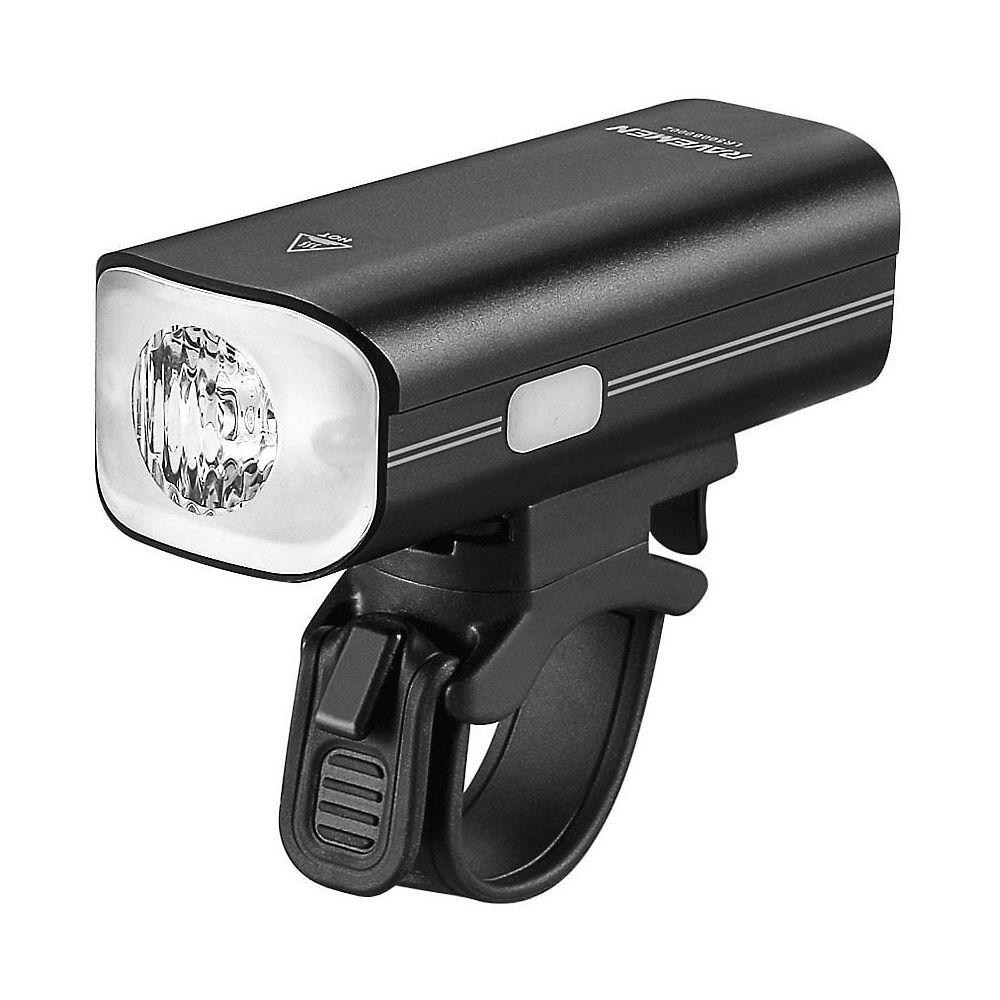 Image of Ravemen LR800P USB Rechargeable Front Light - Matt-Gloss Black, Matt-Gloss Black
