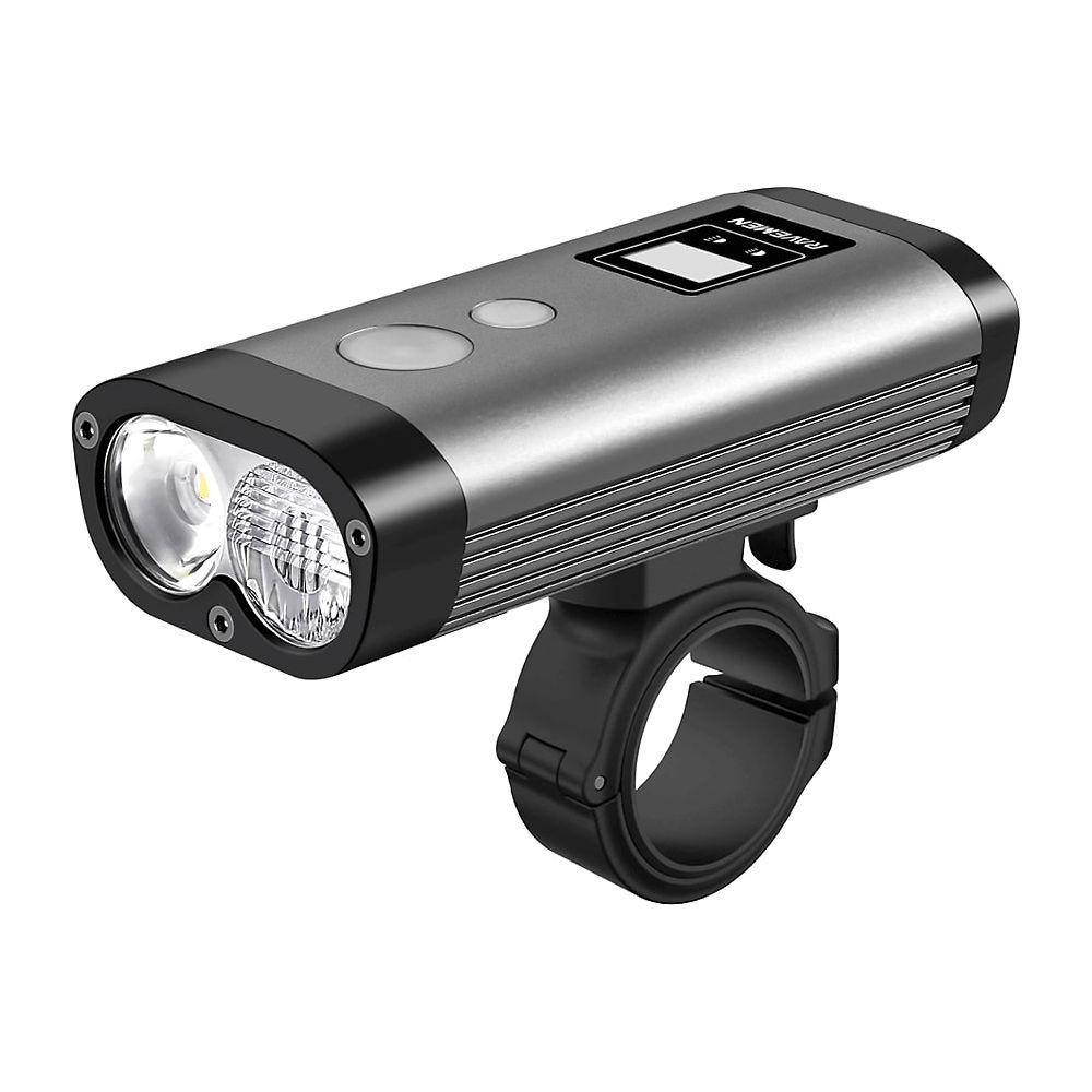 Image of Éclairage avant Ravemen PR1200 (rechargeable via un port USB) - Noir-Gris, Noir-Gris