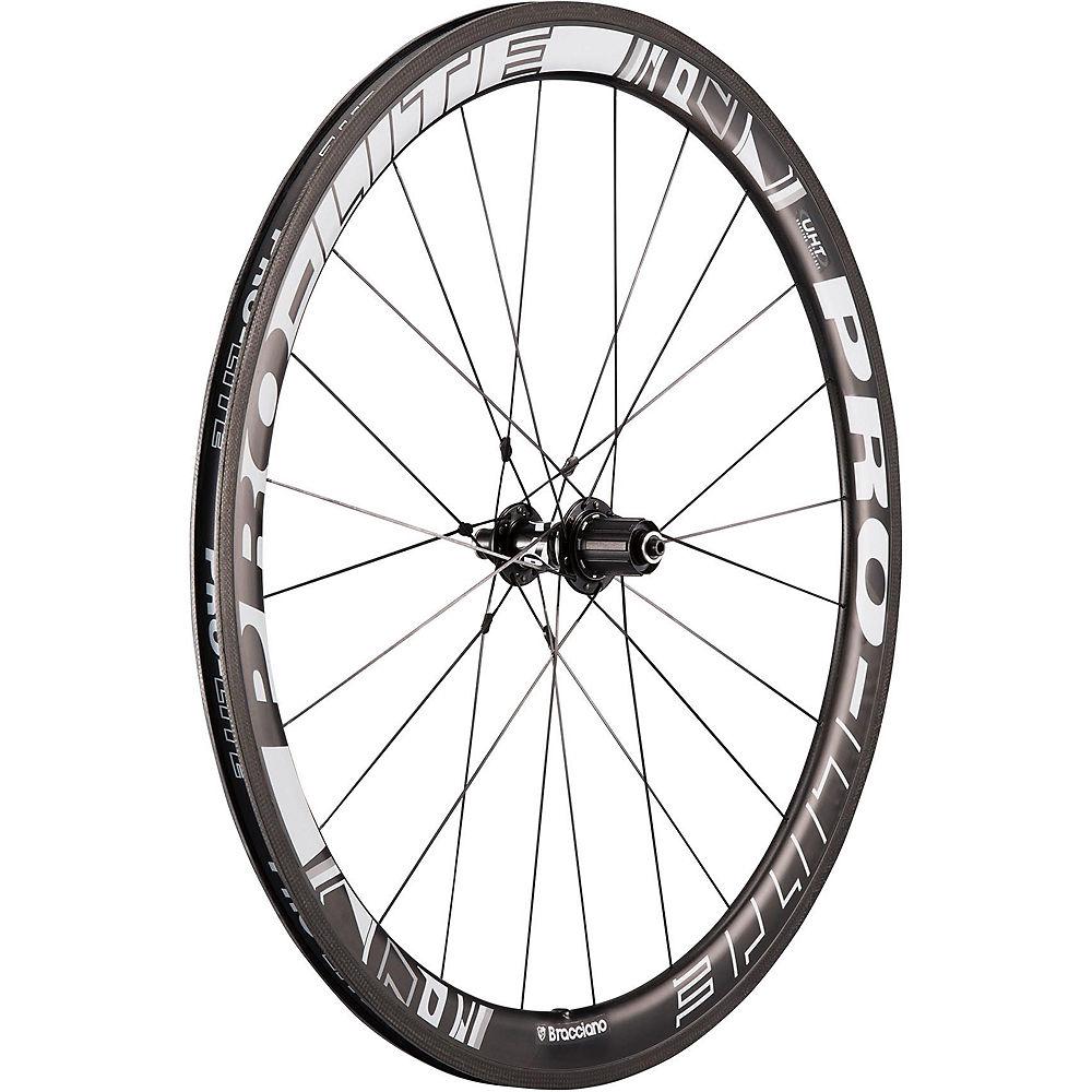 Pro-lite Vicenza C90t Carbon Rear Wheel - Black - White - Shimano  Black - White