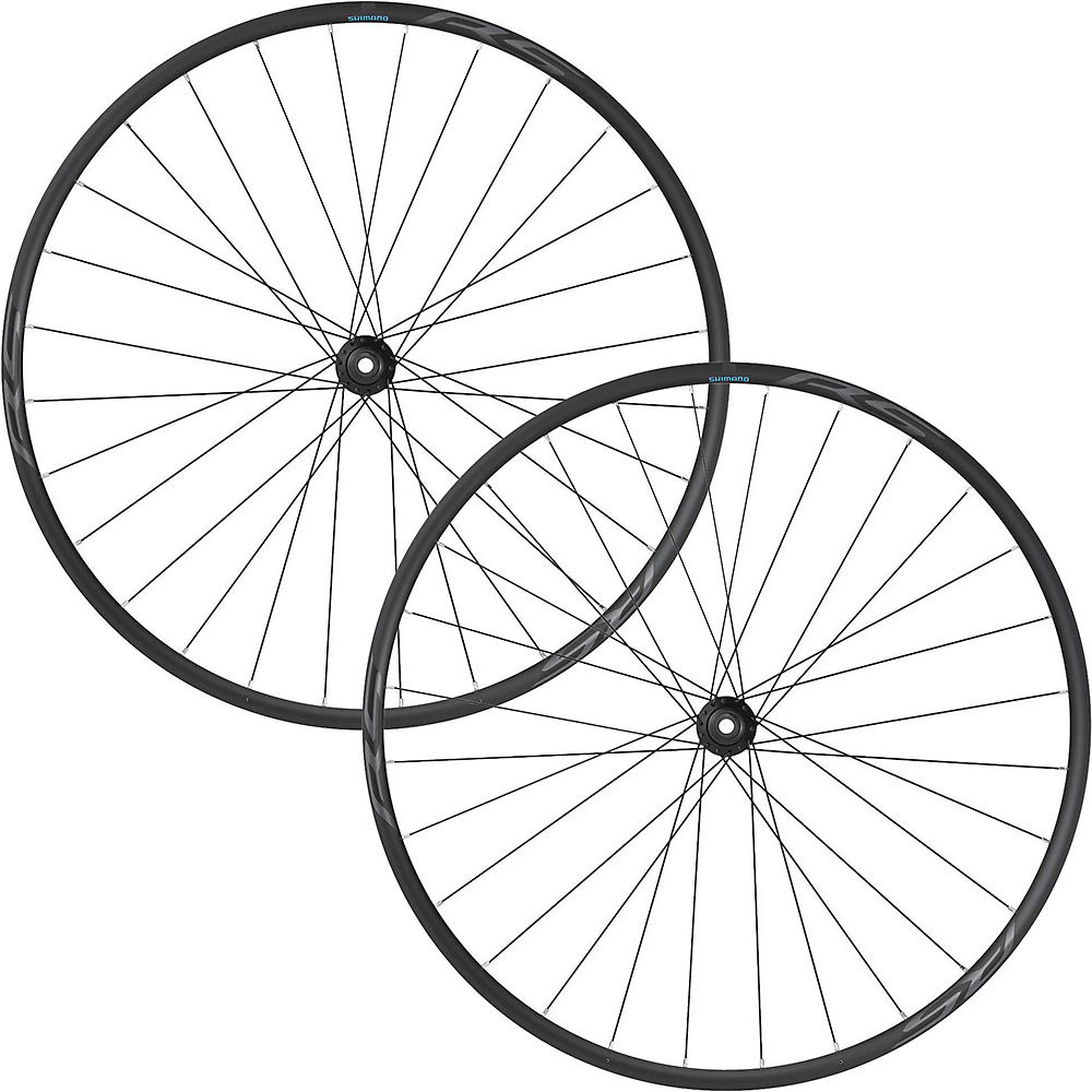 Shimano RS171 Disc Wheelset - Black - 700c, Black