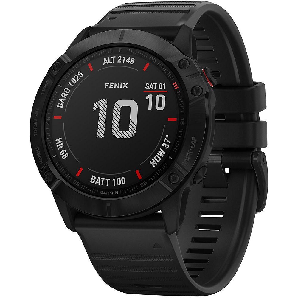 Reloj multideporte Garmin Fenix 6X Pro GPS - Negro, Negro