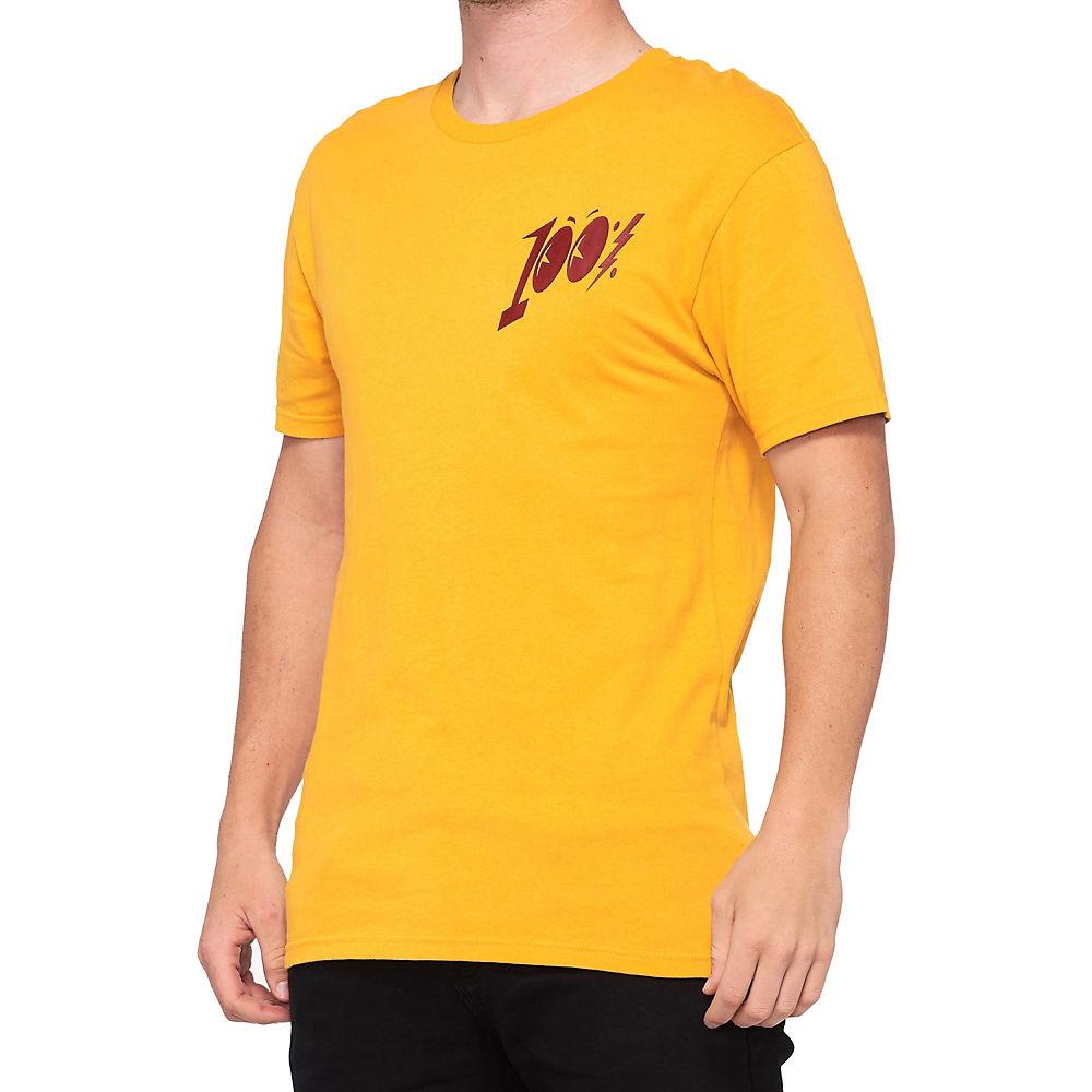 100% Sunnyside T-Shirt  - Goldenrod, Goldenrod