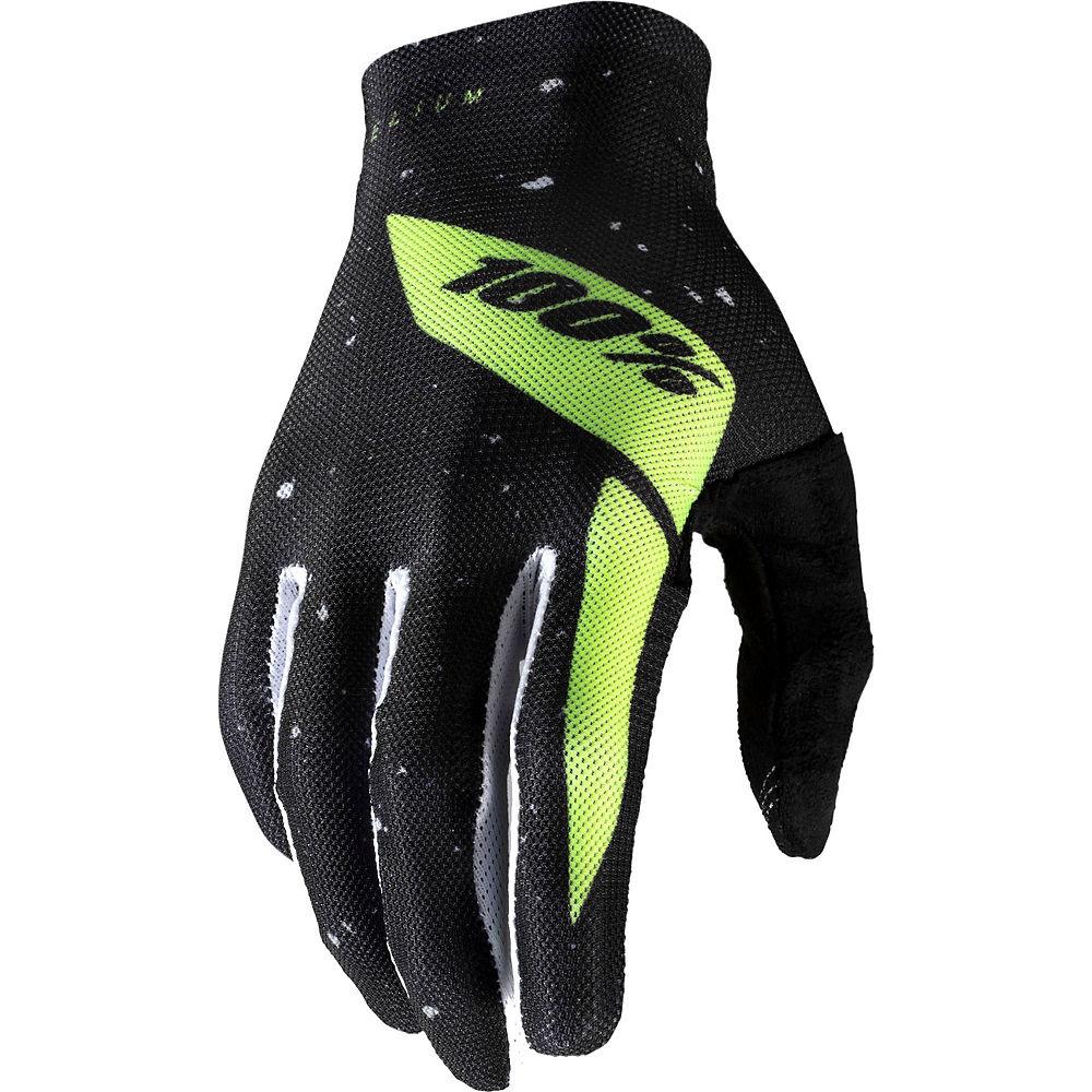 100% Celium Glove - Black-Yellow, Black-Yellow