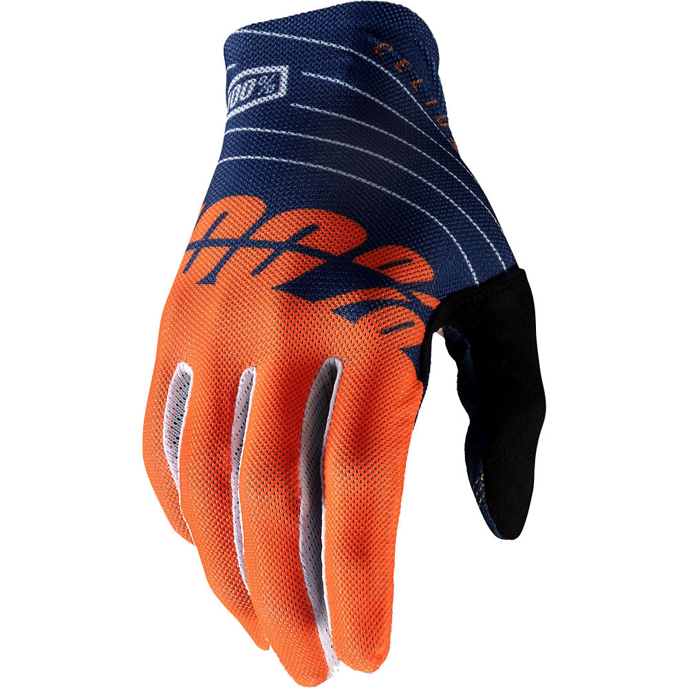 100% Celium Glove - Blue-Orange, Blue-Orange