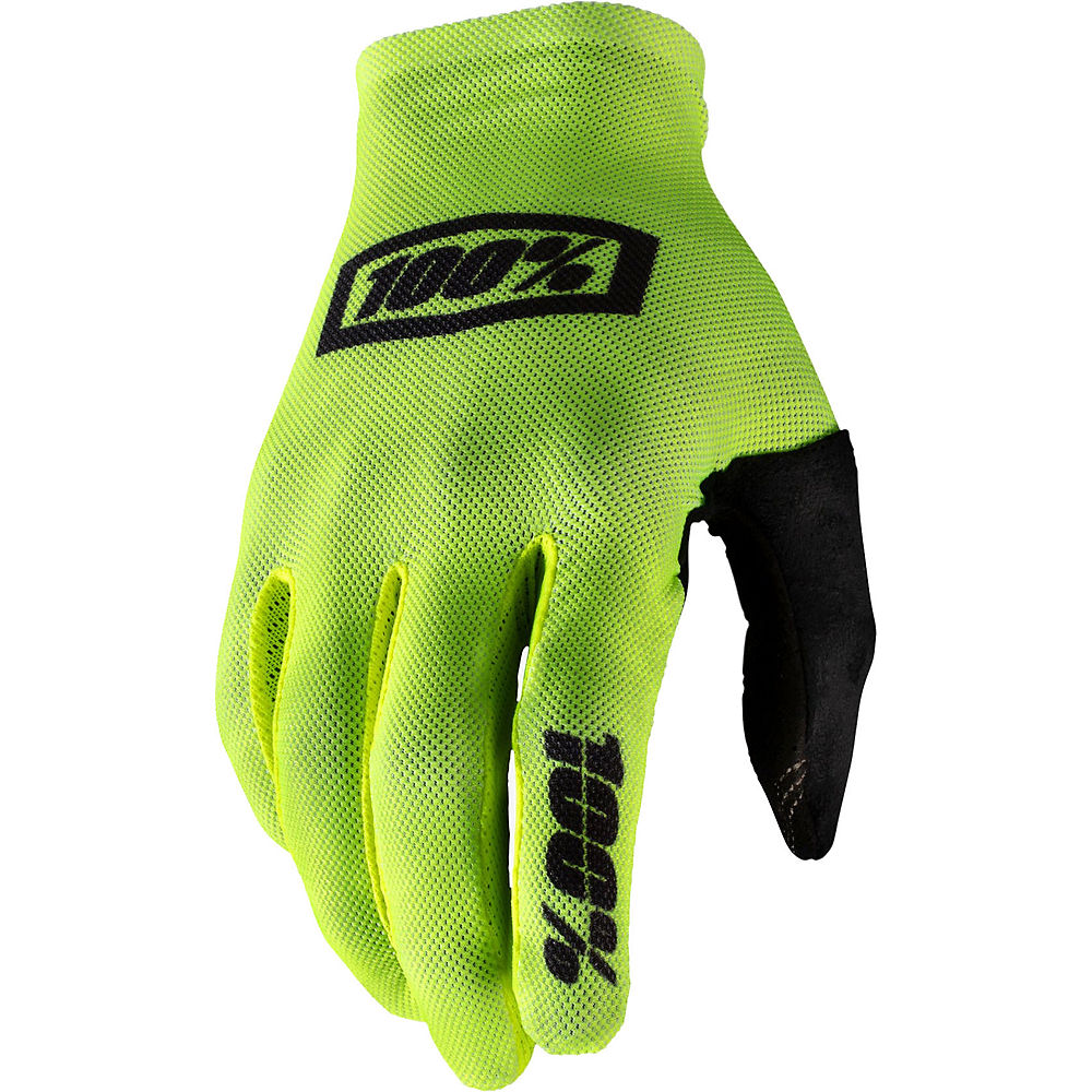 Image of 100% Celium Glove - Fluo Yellow-Black, Fluo Yellow-Black