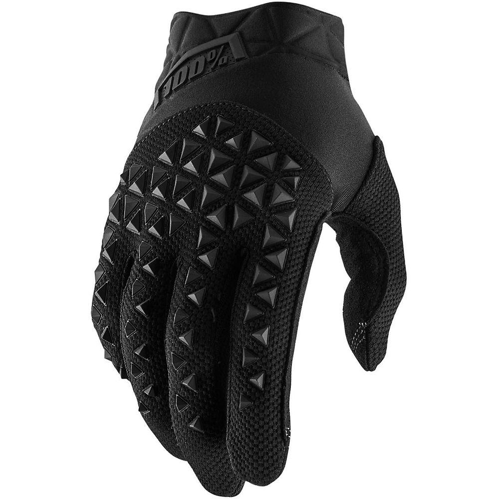 100% Brisker Gloves  - Black-grey  Black-grey