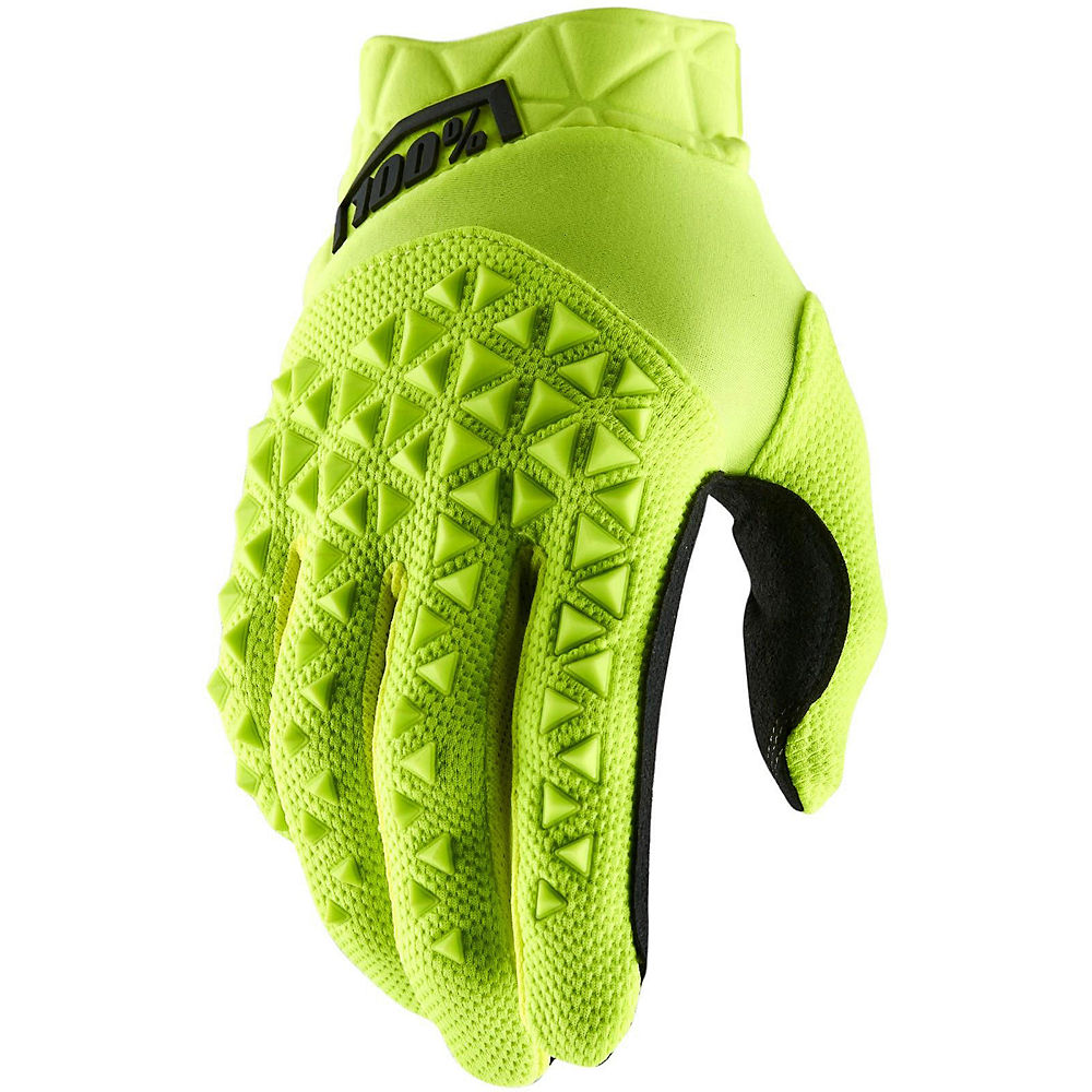 100% Geomatic Glove  - Fluo Yellow - Xl  Fluo Yellow