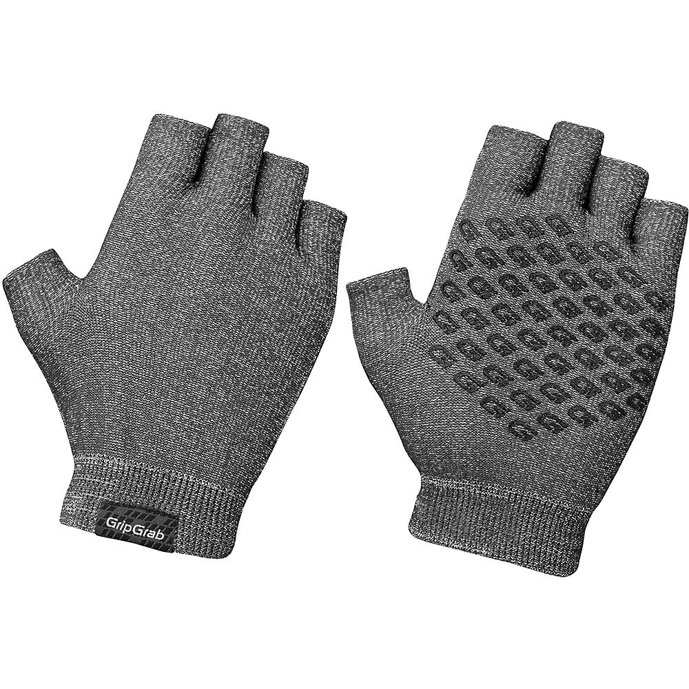 GripGrab Freedom Knitted Cycling Gloves 2020 - Anthracite - XL/XXL, Anthracite