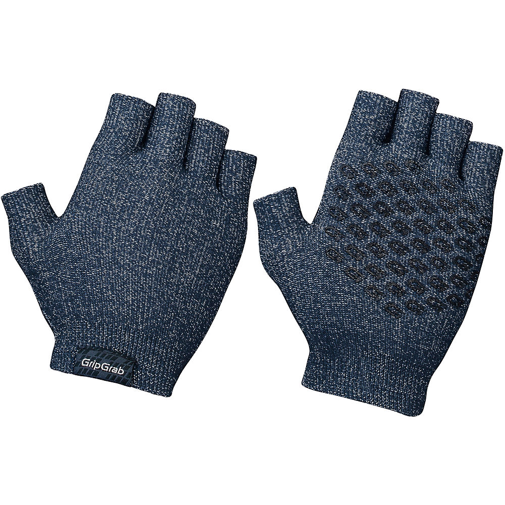 GripGrab Freedom Knitted Cycling Gloves 2020 - Navy - XL/XXL, Navy