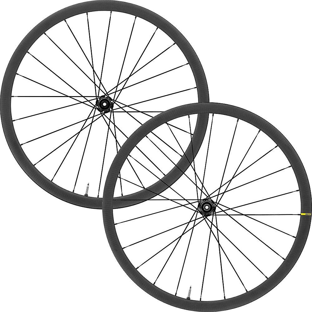 Mavic Ksyrium Pro Carbon UST Disc Wheelset 2020 - Black - Shimano HG, Black