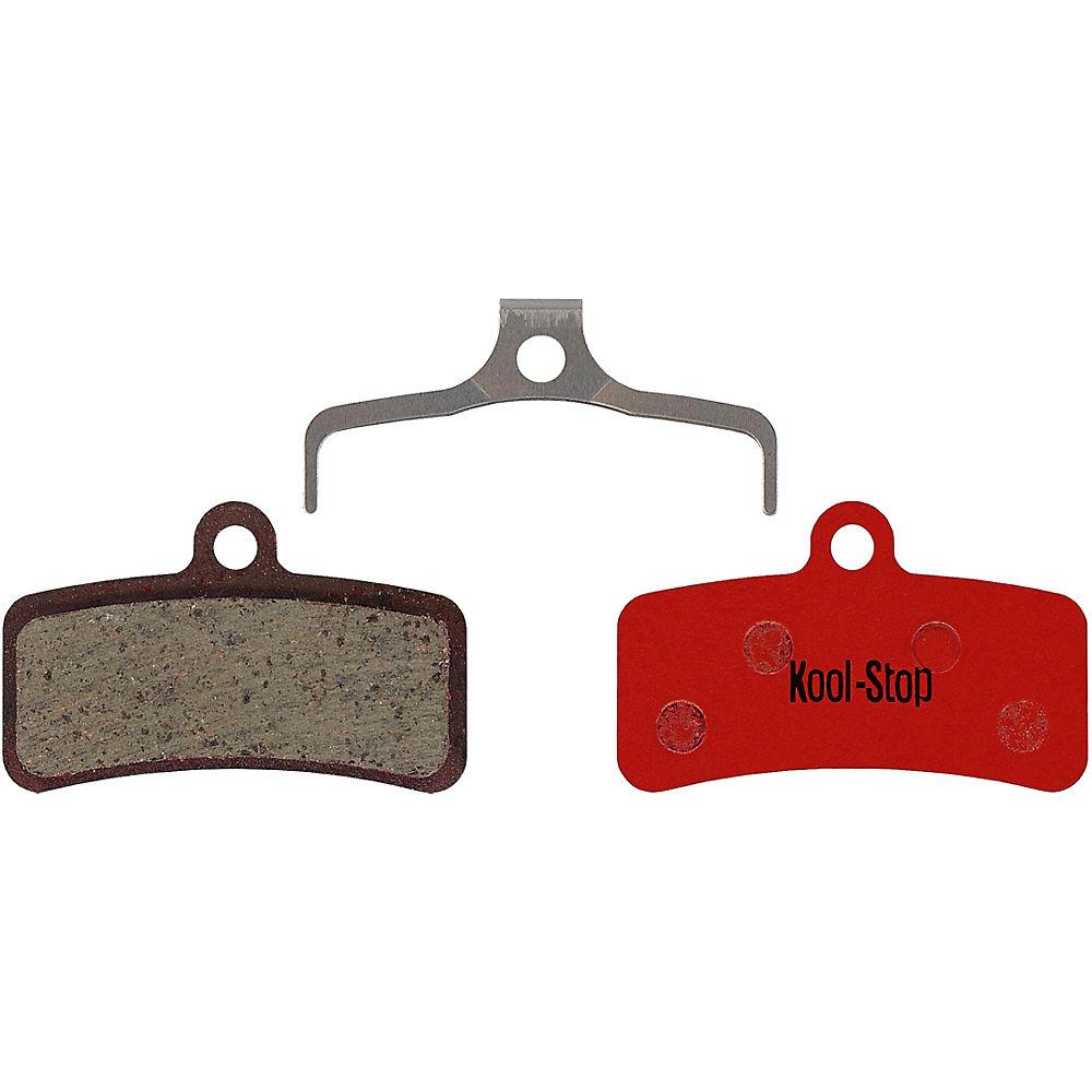 Kool Stop D640 Shimano M8020-810-820-640 Disc Pads - Black - Organic, Black