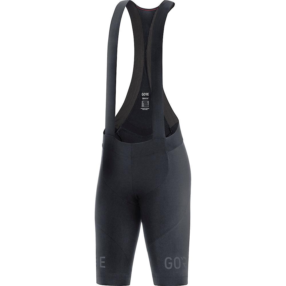 Gore Wear Women's C7 Bib Shorts+  - Negro - L, Negro