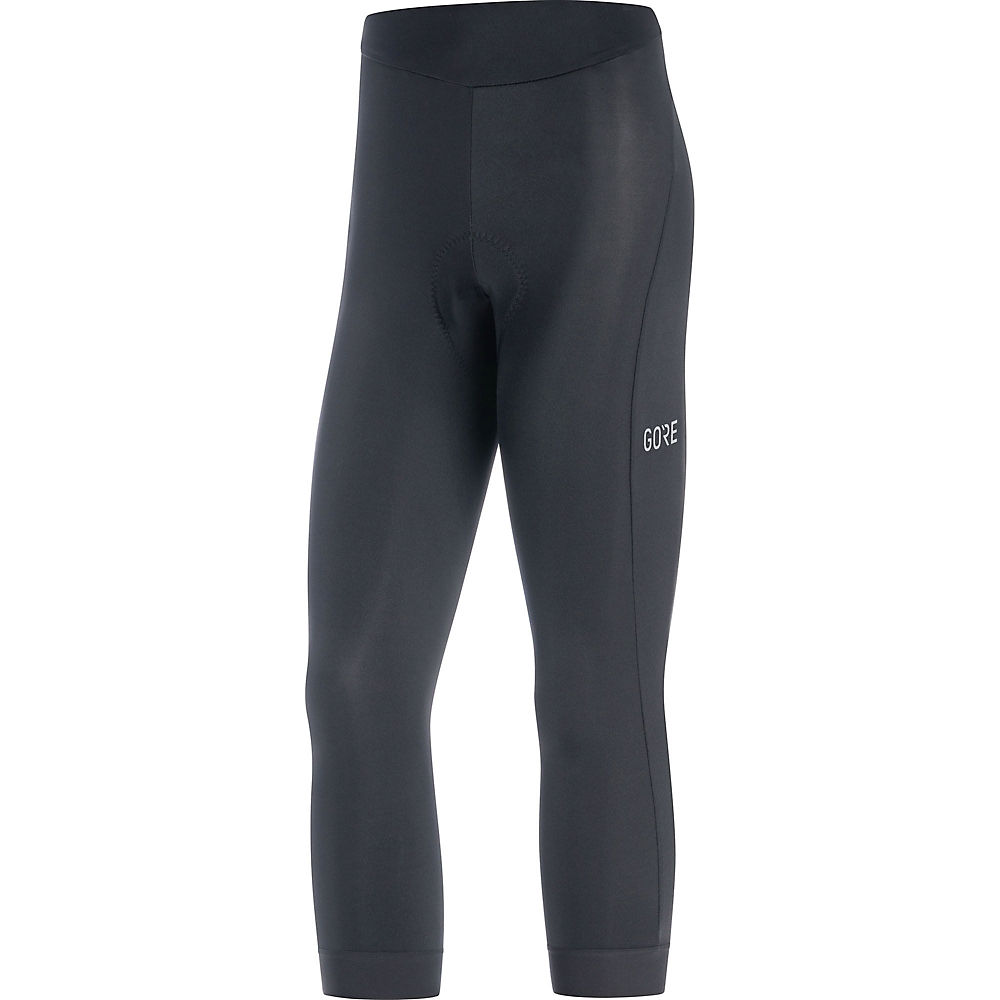 Gore Wear Womens C3 3-4 Tights+ - Black - Xl  Black