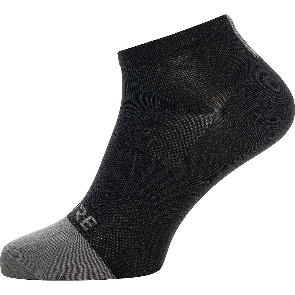 Gore Wear M Light Short Socks - Black-graphite Grey - Xl  Black-graphite Grey