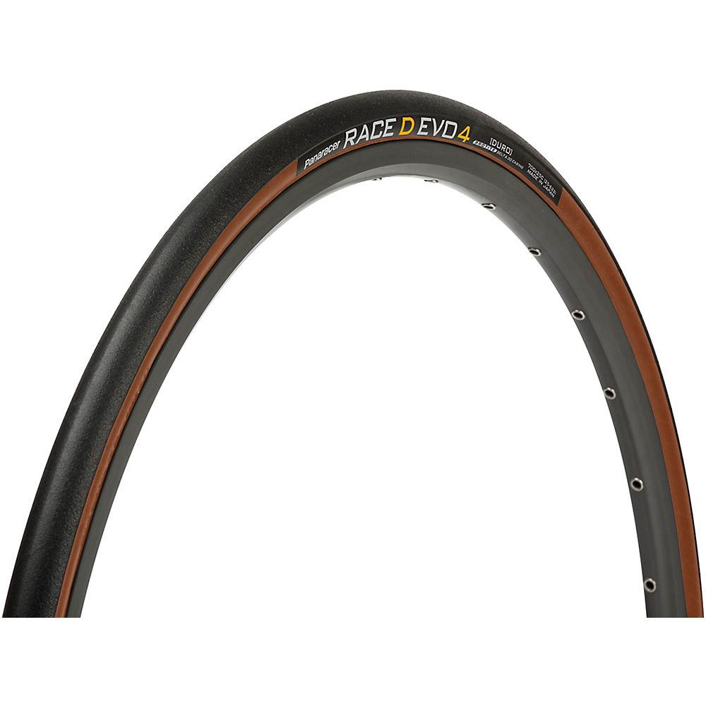 Panaracer Race D Evo 4 Road Tyre - Black - Brown - 700c  Black - Brown
