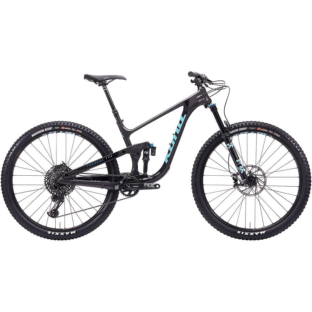 Kona Process 134 CR 29 Full Suspension Bike 2020 - Lead Powder - Black - M